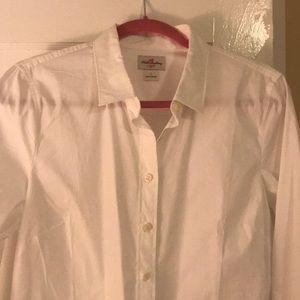 White oxford style shirt